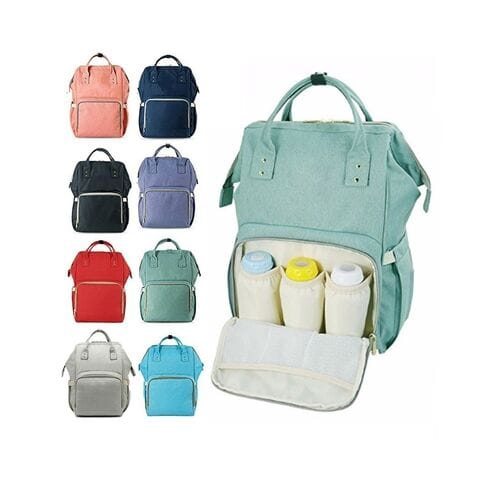 Сумка-рюкзак для мамы Mummy Bag с USB оптом