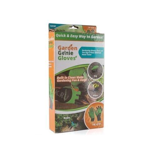 Садовые перчатки с когтями Garden Genie Glove...