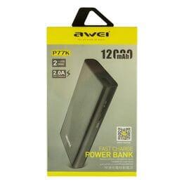Power Bank Awei P77K 12000 мАч