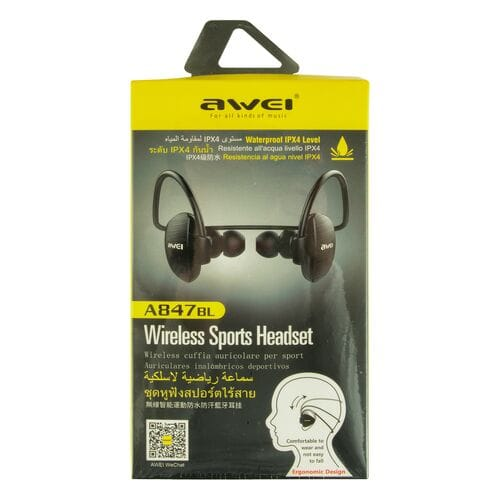 Bluetooth стереогарнитура Awei A847BL оптом