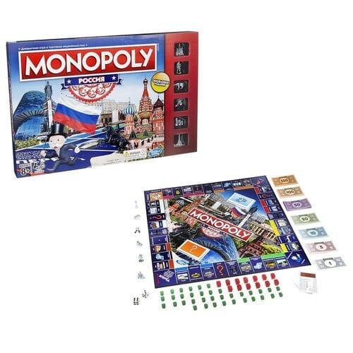 Настольная игра Монополия Россия оптом
