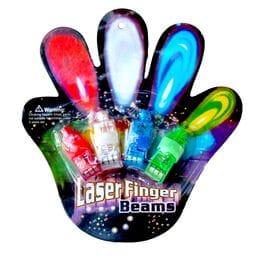 Комплект фонариков на пальцы Laser Finger Bea...