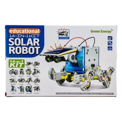 Робот конструктор Solar 14 в 1 оптом