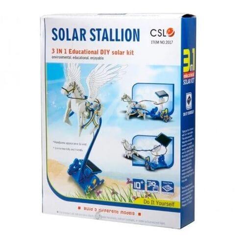 Конструктор на солнечной батарее Пегас 3 в 1