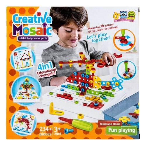 Конструктор Creative Mosaic 234 детали оптом