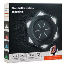 Беспроводное зарядное устройство Star drill w...