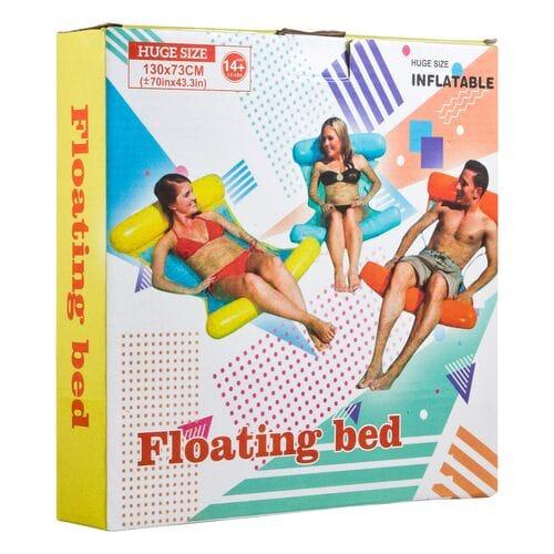 Надувной шезлонг для плавания Floating bed оптом