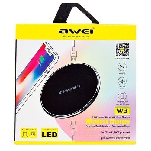 Беспроводное зарядное устройство Awei W3 оптом