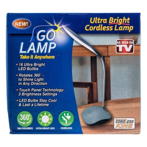 Аккумуляторная переносная лампа Go Lamp