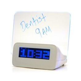 Светодиодный цифровой будильник с люминесцент...