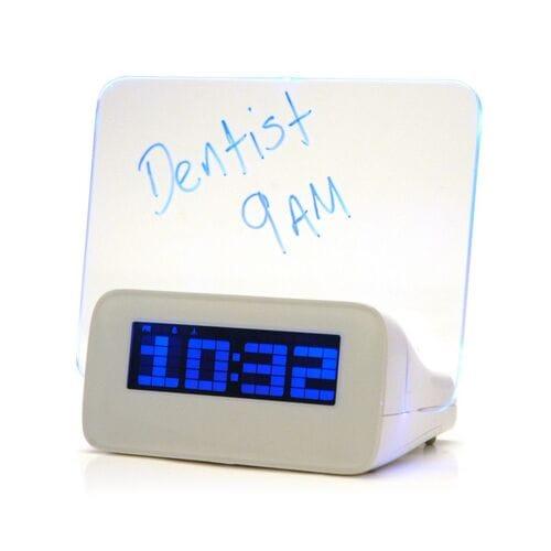 Светодиодный цифровой будильник с люминесцентной панелью оптом