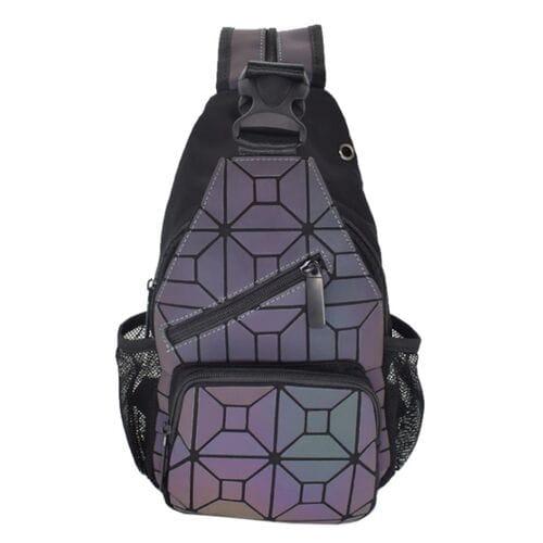 Геометрический рюкзак Хамелеон