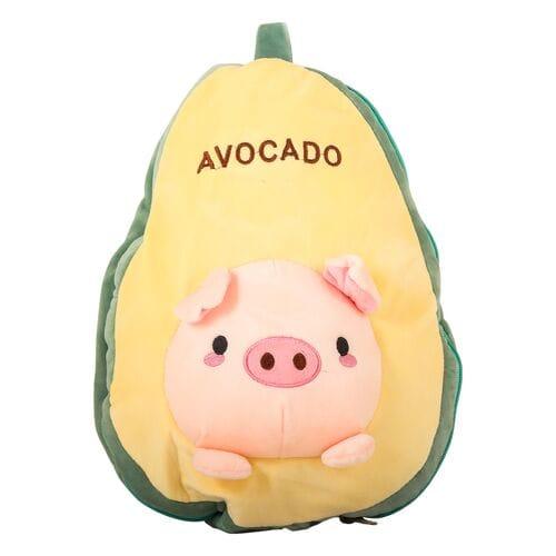 Подушка плед игрушка авокадо