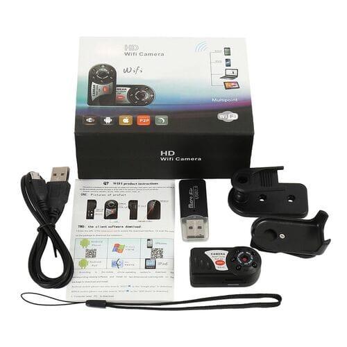 Мини камера Q7 HD WiFi Camera