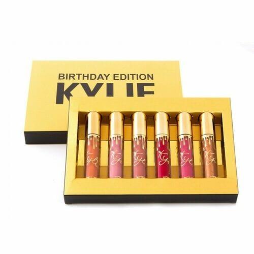 Набор помады Kylie Birthday Edition