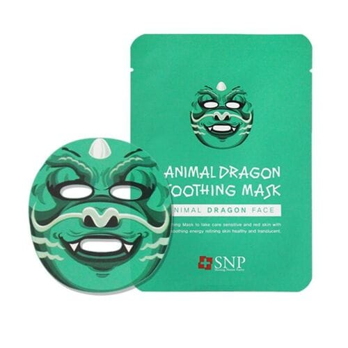 Тканевая успокаивающая маска Animal Dragon So...