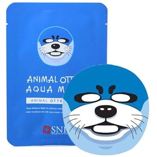 Увлажняющая тканевая маска Animal Otter Aqua Mask оптом