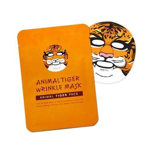 Антивозрастная тканевая маска Animal Tiger Wrinkle Mask оптом