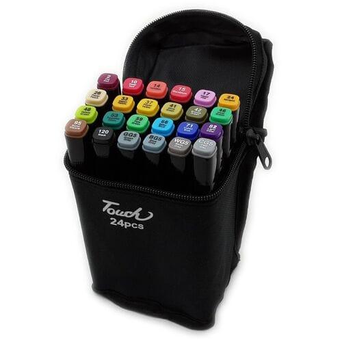Маркеры для скетчинга touch 24 цвета оптом