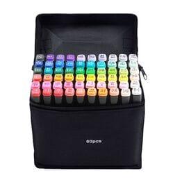 Маркеры для скетчинга touch 60 цветов