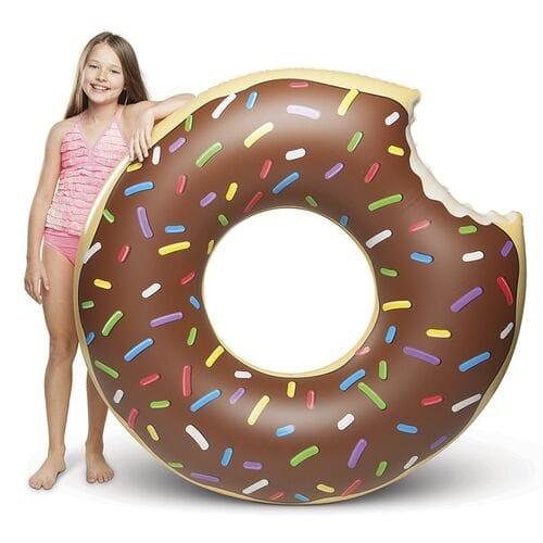 Надувной круг Пончик 120 см