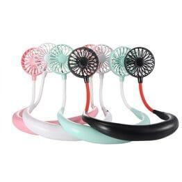 Портативный шейный вентилятор