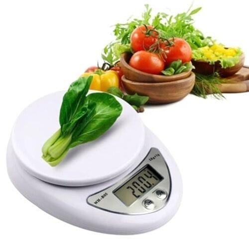 Электронные кухонные весы WH-B05