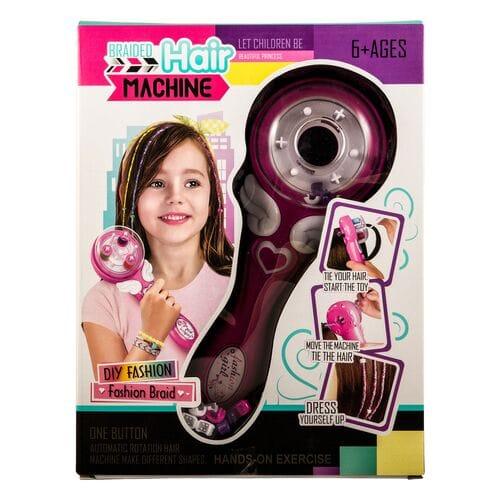 Детский набор с машинкой для плетения волос Braided Hair Machine оптом