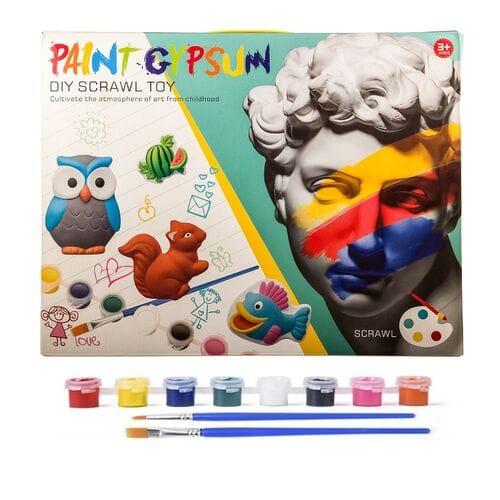 Детский набор для окрашивания гипса Paint Gyp...