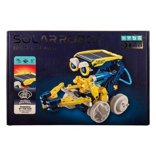 Конструктор на солнечной батарее Solar Robot Build and Learn 11 в 1 оптом