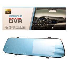 Автомобильное зеркало видеорегистратор Vehicl...