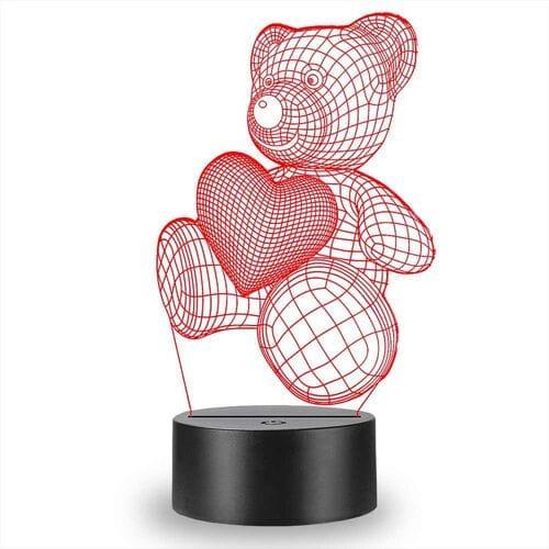 3d светильник ночник проекционный