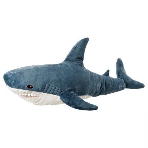 Мягкая игрушка Акула 60 см оптом