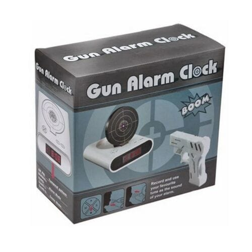 Будильник с мишенью Gun Alarm Clock оптом