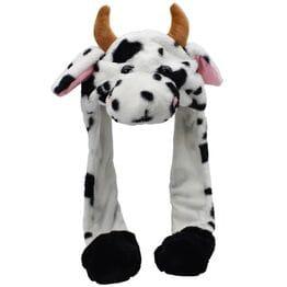 Шапка с двигающимися ушками Корова