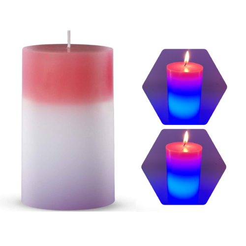 Меняющая цвет свеча Хамелеон