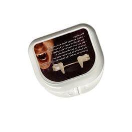 Выдвижные накладные зубы вампира