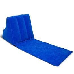 Пляжный лежак с надувной подушкой