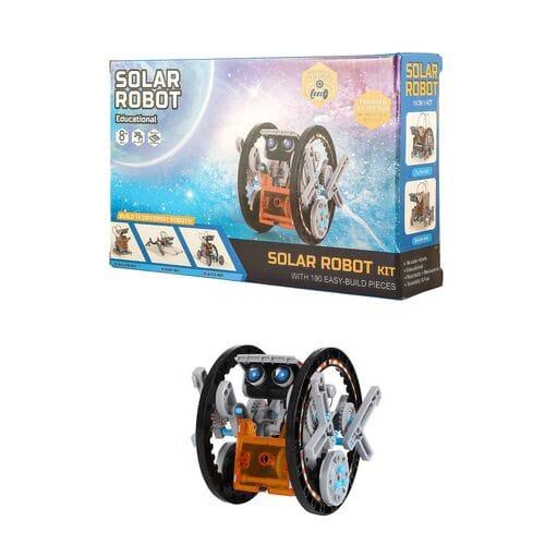 Конструктор на солнечных батареях Solar Robot 14 роботов оптом
