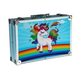 Набор для рисования в металлическом чемоданчи...