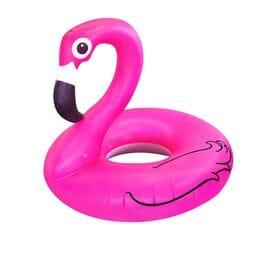 Круг для плавания Розовый фламинго 90 см