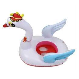 Круг для плавания Лебедь с крыльями