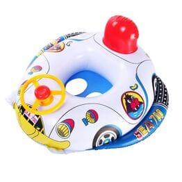 Детский круг для плавания Машинка с рулем
