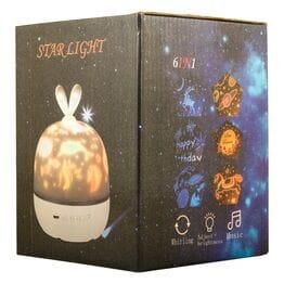 Ночник проектор звездного неба Star Light с у...