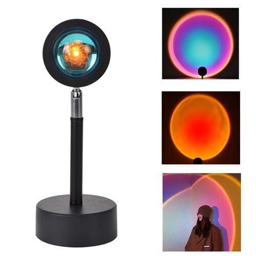 Светодиодный атмосферный ночник проектор зака...