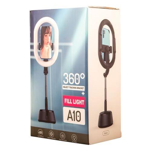 Овальная кольцевая лампа для селфи и макияжа ...