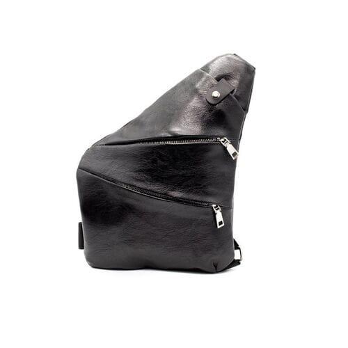 Мужская кожаная сумка кобура