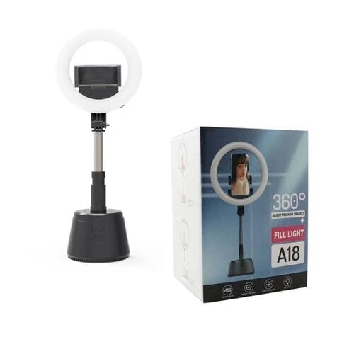 Складная светодиодная кольцевая лампа 16 см Fill light A18 оптом