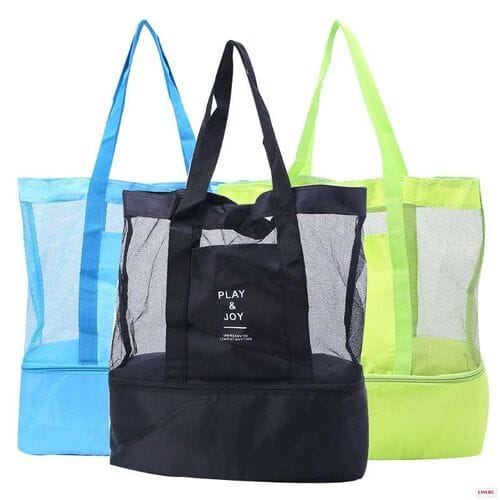 Пляжная сумка-термос Play and Joy складная оптом