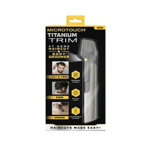 Универсальный триммер Micro touch Titanium Trim для мужчин оптом